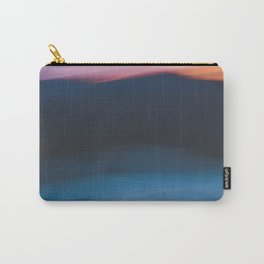 Mountain Sunset Abstract Carry-All Pouch