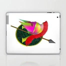 Spartan Helmet Colorful Laptop & iPad Skin