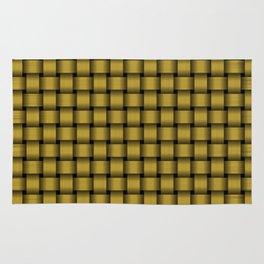 American Gold Weave Pattern Rug