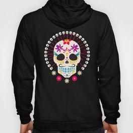 Dios De Los Muertos Day of the Dead Sugar Skull Fiesta Hoody