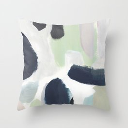 For You Blue Throw Pillow