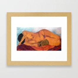 Nude #1 Framed Art Print