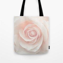 Blush Pink Rose Tote Bag