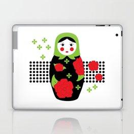 Pop-art Russian Doll Matryoshka Laptop & iPad Skin
