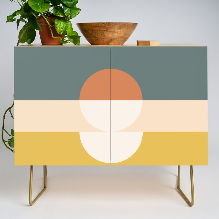 Abstract 02 Credenza