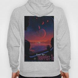 NASA Retro Space Travel Poster #13 - TRAPPIST-1e Hoody