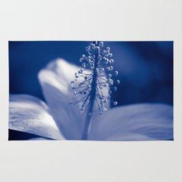 Enchanting Moments - Pua Aloalo - Koki'o Ke'oke'o - Hibiscus Arnottianus - Hawaiian White Hibiscus Rug