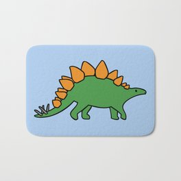 Cute Stegosaurus Bath Mat