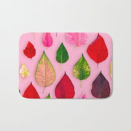 Plants on Pink Bath Mat