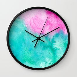 Galaxies & Seas Wall Clock