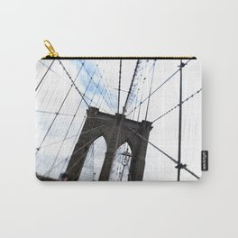 Brooklyn Bridge, quaking. Carry-All Pouch