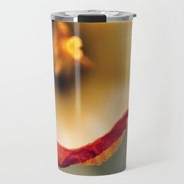 Daffodil Abstract Travel Mug