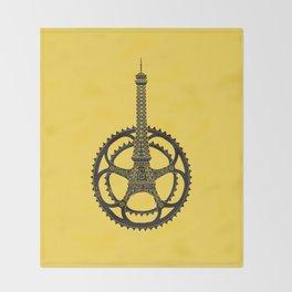 Le Tour de France Throw Blanket