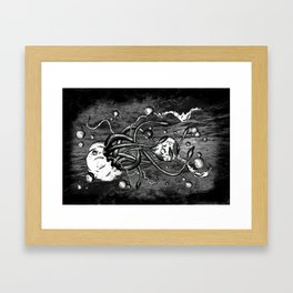 Retinal Detachment Framed Art Print