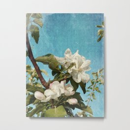 French Blossoms Metal Print