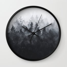 The Heart Of My Heart // Midwinter Edit Wall Clock