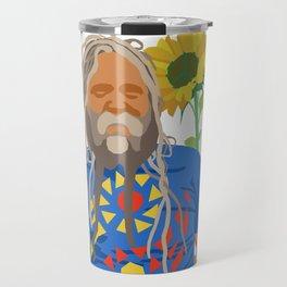 Flower Power Dread Travel Mug