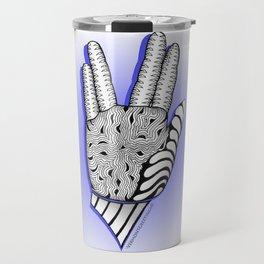 Go Forth and Prosper Zentangle Greeting Travel Mug
