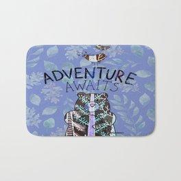 Adventure Awaits - Bagaceous Bath Mat