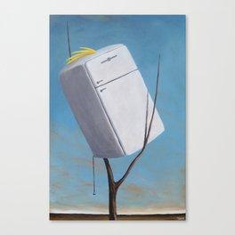 Sulfur Crested Kelivinator Canvas Print