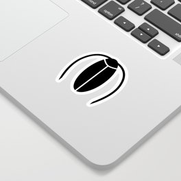 Bugs: abstract Cockroach Sticker