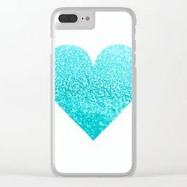 AQUA HEART Clear iPhone Case
