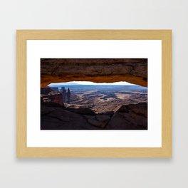 Mesa Arch - Canyonlands National Park Framed Art Print
