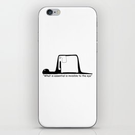 The Little Prince. Boa, elephant or hat. iPhone Skin