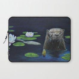 The River Otter by Teresa Thompson Laptop Sleeve
