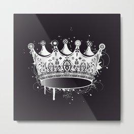 Crown in graffiti style Metal Print