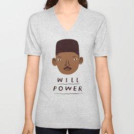 Will Power Unisex V-Neck