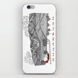 Sugarbush Vermont Serious Fun for Skiers- Zentangle Illustration iPhone Skin