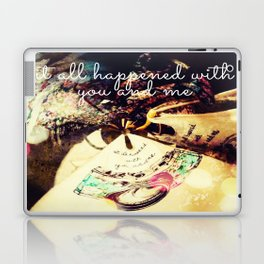 Itt all happened.... Laptop & iPad Skin