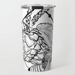 Hops & Wheat & Honey Travel Mug
