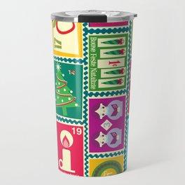 Christmas Mail Travel Mug