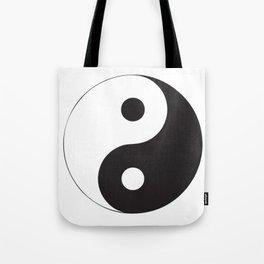 YIN YANG Abstract Art Tote Bag