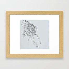 'Siren' Framed Art Print