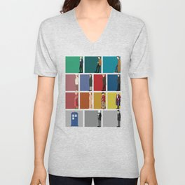 Doctor Who? Unisex V-Neck