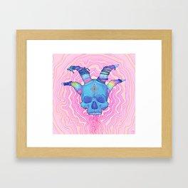 Mana Skull 2 Framed Art Print