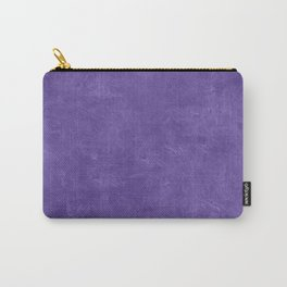 Ultra Violet Oil Pastel Color Accent Carry-All Pouch