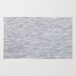 Grey Knitted Fabric Rug