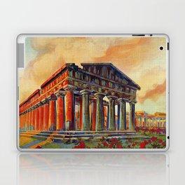 Paestum ancient Greek temple Laptop & iPad Skin