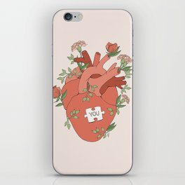 The Missing Piece iPhone Skin