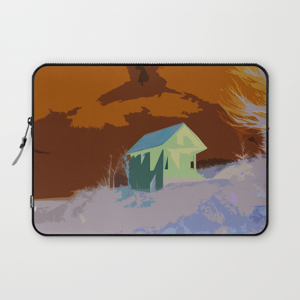 A Beautiful House On The Hill Laptop Sleeve LSV8663034