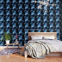 Blue Smoke Wallpaper