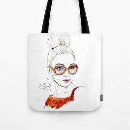Beauty Portrait 2 Tote Bag