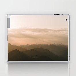 Mountain Sunrise in the german Alps - Landscape Photography Laptop & iPad Skin