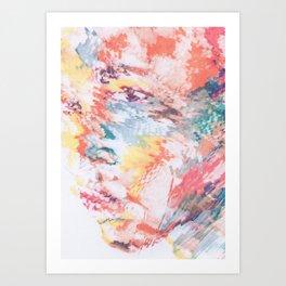 Strangers Faces #2 Art Print