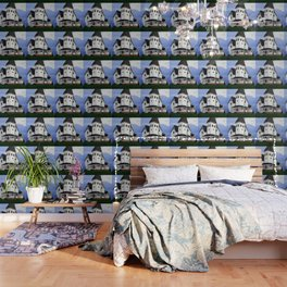 Beetle juice House Wallpaper