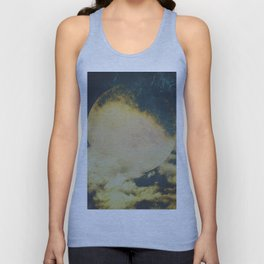 Golden moon Unisex Tank Top
